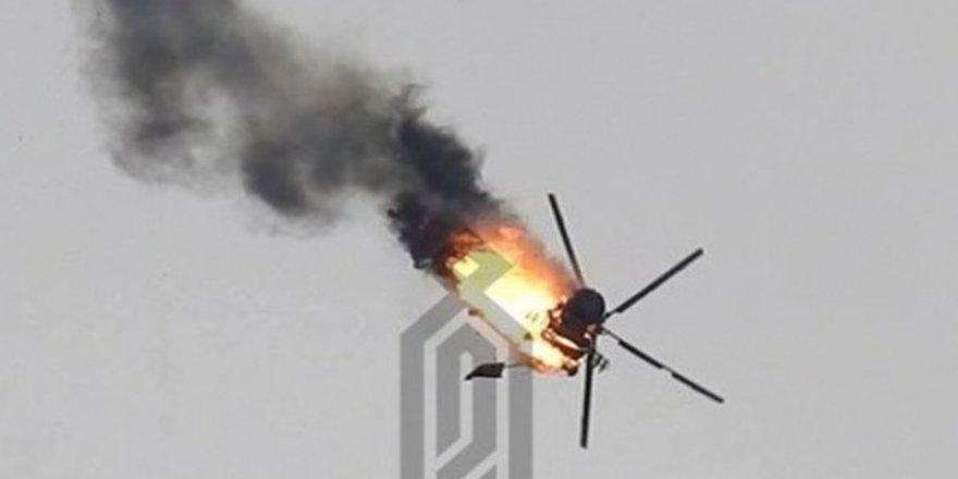 İDDİA: Türkiye Suriye helikopterini vurdu