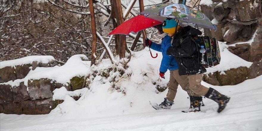 19 Kürt ilinde eğitime kar engeli
