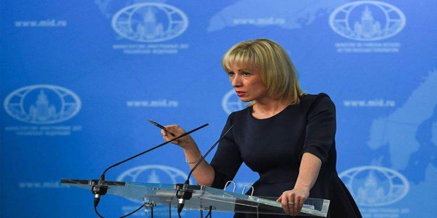 Zaharova: Türkiye NATO'dan destek istemeden iki defa düşünmeli