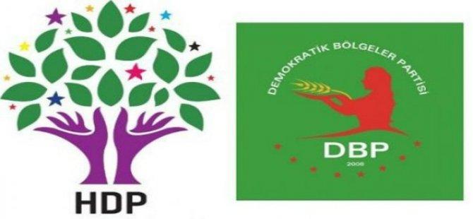 Diyarbakır'da HDP ve DBP'ye operasyon; 50'den fazla gözaltı