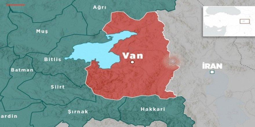 Van'da deprem: Bitlis ve Hakkari'den de hissedildi