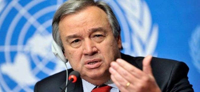 BM Genel Sekreterliği'ne Antonio Guterres seçildi
