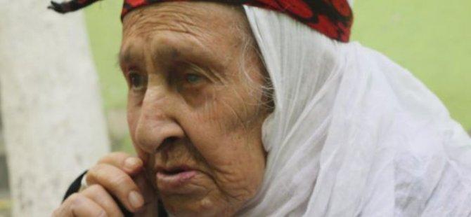 En az 415 torunu olan yaşayan tarih Diyarbakırlı Şahe Nine