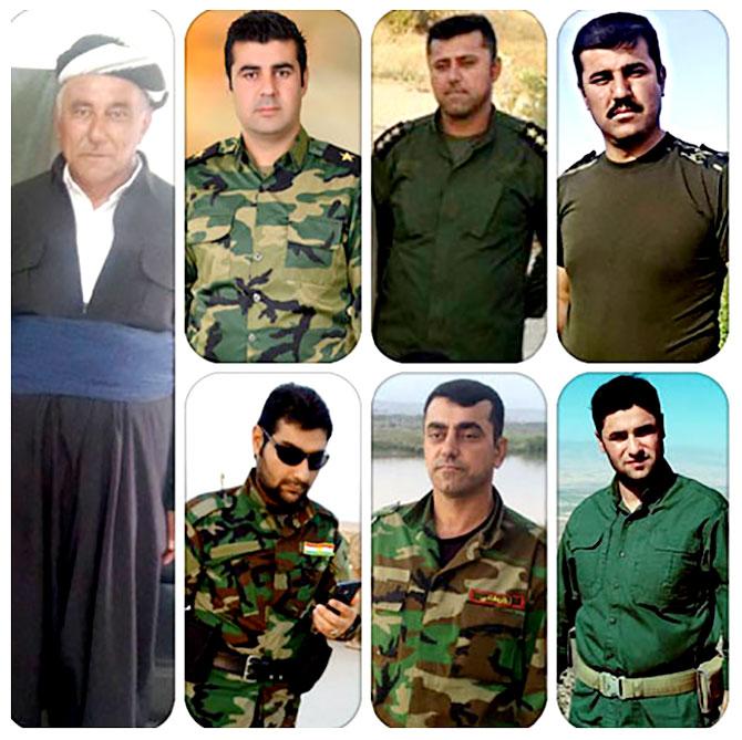 Baba ve 6 oğlu IŞİD'e karşı savaşıyor