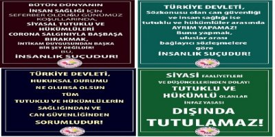 PAK: Yargı Reformu Paketi Siyasi Tutuklu Ve Hükümlüleri De Kapsamalıdır